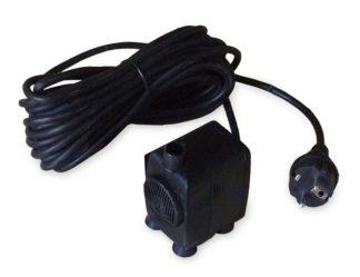 pompa per giochi d'acqua e laghetti, portata 600 l/h, cod. 99PO600