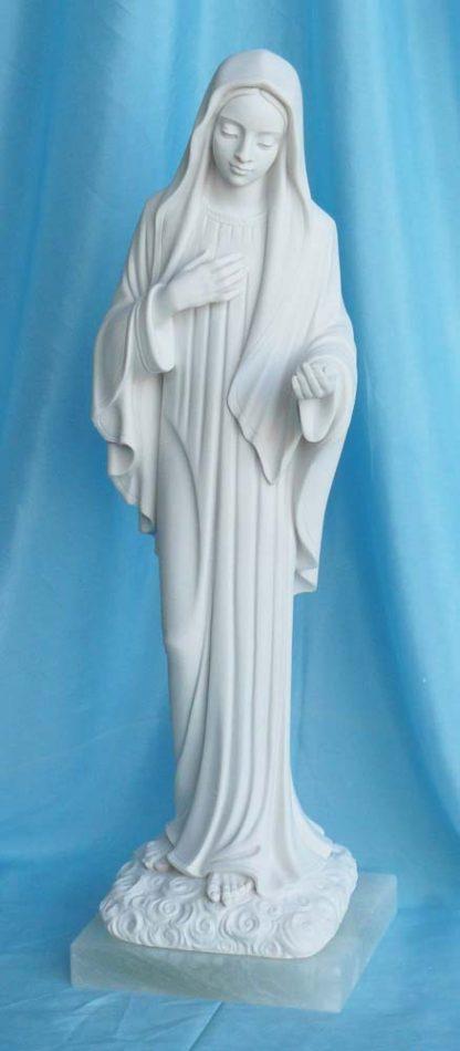statua della Madonna di Medjugorje altezza 40 cm, cod. 25MMJ40MR