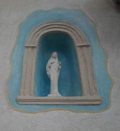 statua della Madonna di Medjugorje altezza 40 cm, cod. 25MMJ40MR, località: Romano Canavese (Torino)
