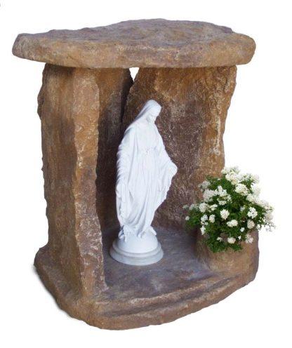 nicchia a scaglie per Madonna col. old stone, cod. 14NSCOS
