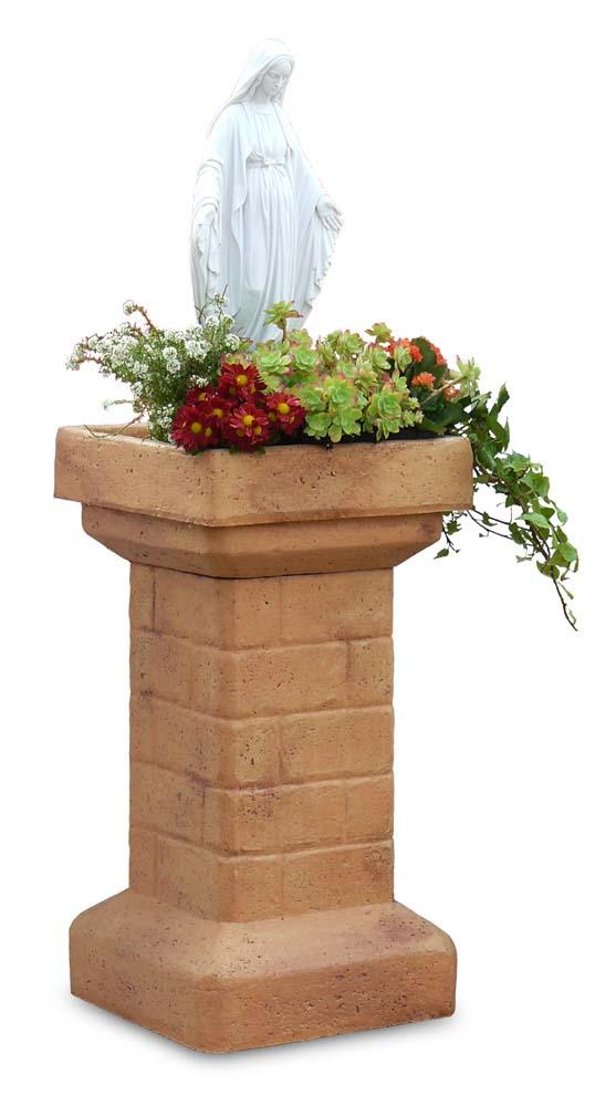 Pilastro con madonna r c di rinaldi geom franco for Prodotti per giardino
