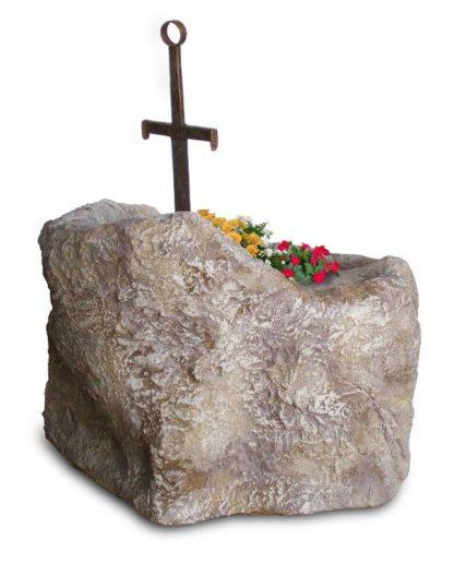 spada nella roccia, vista posteriore