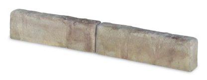 cordolo 50 per aiuole col. terra di Siena, cod. 05C50T