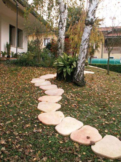 piastre pedonali col. pietre del borgo, cod. 05PP, località: Villanova del Ghebbo (Rovigo)