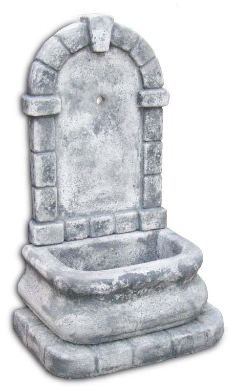 Fontana aurelia fontane a muro e lavelli r c di - Fontane a muro per esterno ...