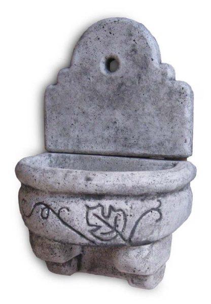fontana a muro Giudecca con supporto col. antichizzata, cod. 03FMGAT