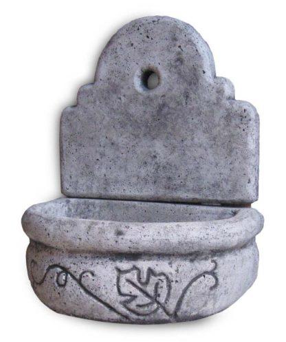 fontana a muro Giudecca senza supporto col. antichizzato, cod. 03FMGATS