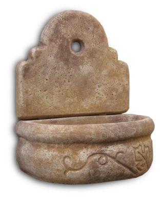 fontana a muro Giudecca senza supporto col. old stone, cod. 03FMGOSS