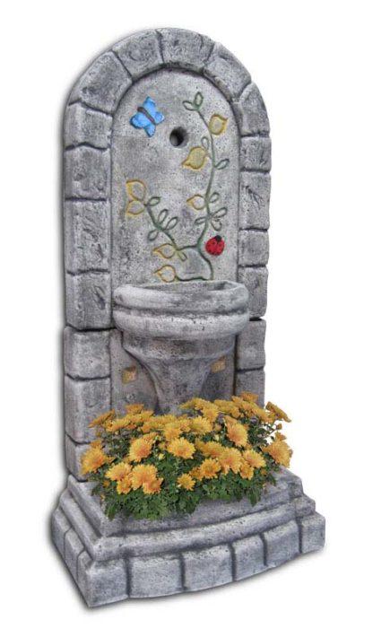 fontana a muro Roma col. antichizzato decor, cod. 03FMRATD