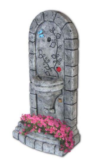 fontana a muro Roma col. antichizzato, cod. 03FMRAT