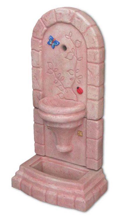 fontana a muro Roma col. rosa antico, cod. 03FMRRA