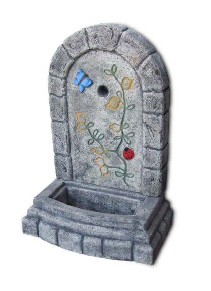 fontana a muro Terni col. antichizzato decor, cod. 03FMTATD