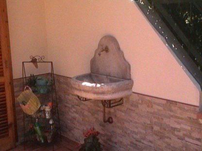 fontana a muro Venezia senza supporto col. mattone, cod. 03FMVMS, località: Baronissi (Salerno)
