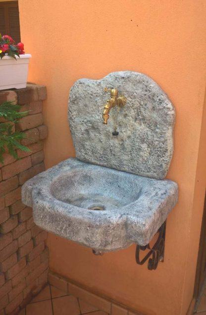 lavello da giardino Anterselva col. antichizzato, cod. 03LANAT, località: Cirié (Torino)