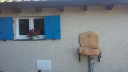 lavello da giardino Anterselva col. pietre del borgo, cod. 03LANP, località: Guspini (Medio Campidano)