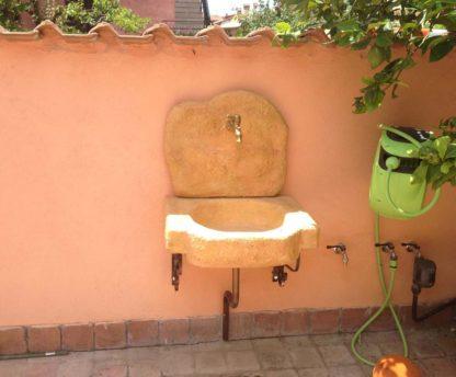 lavello da giardino Anterselva col. pietre del borgo, cod. 03LANP, località: Roma