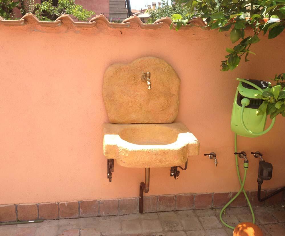 lavello da giardino anterselva r c di rinaldi geom franco