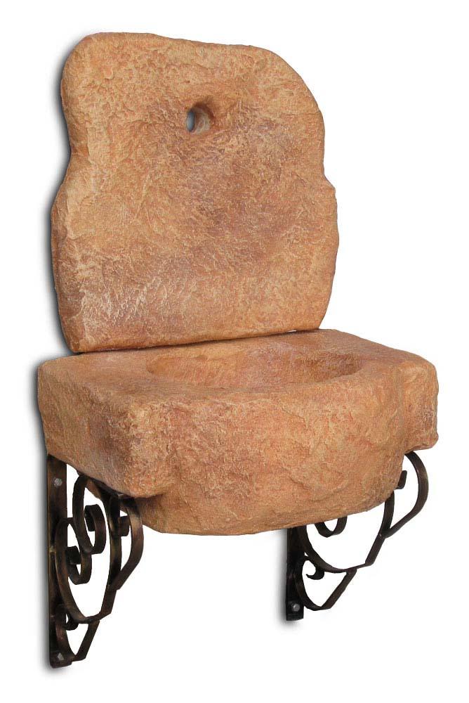 lavello pietra da giardino : Lavello da giardino Braies Fontane a muro e lavelli R.C. di ...