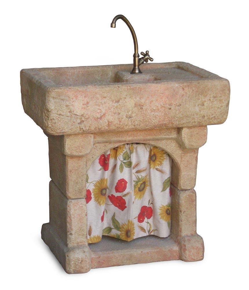 Vasche In Pietra Per Fontane lavello da giardino garda