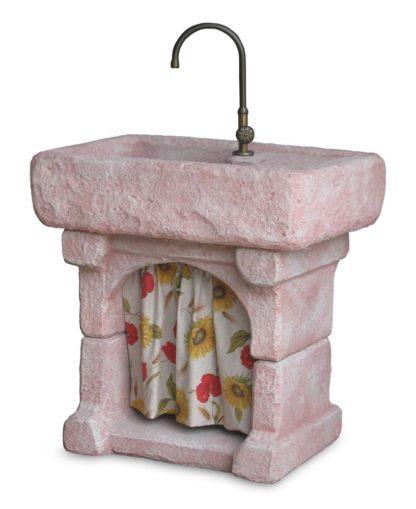 lavello Garda col. rosa antico, cod. 03LGARA
