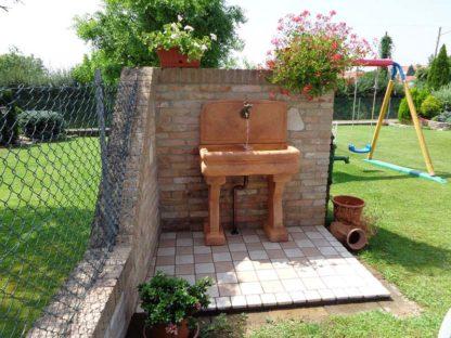 lavello per esterno col. mattone, cod. 03LEM, località: Treviso