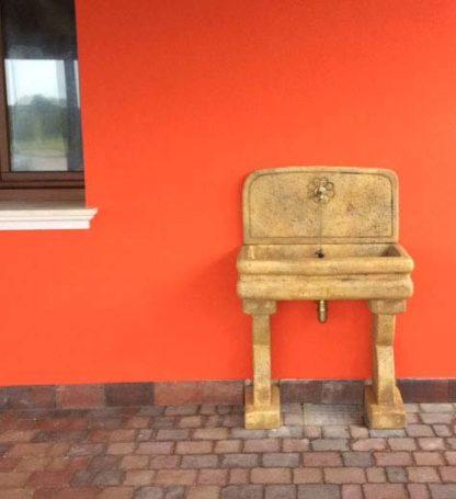 lavello per esterno col. old stone, cod. 03LEOS, località: Porto Tolle (Rovigo)