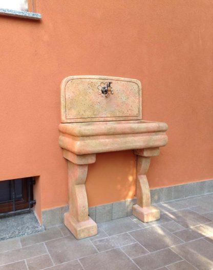 lavello per esterno col. pietre del borgo, cod. 03LEP, località: Vaiano Cremasco (Cremona)