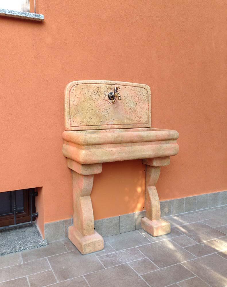 Lavello per esterno r c di rinaldi geom franco - Lavello da esterno ...