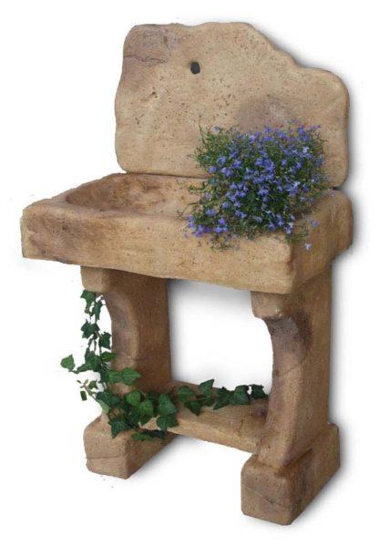 lavello da giardino rustico col. old stone, cod. 03LROS
