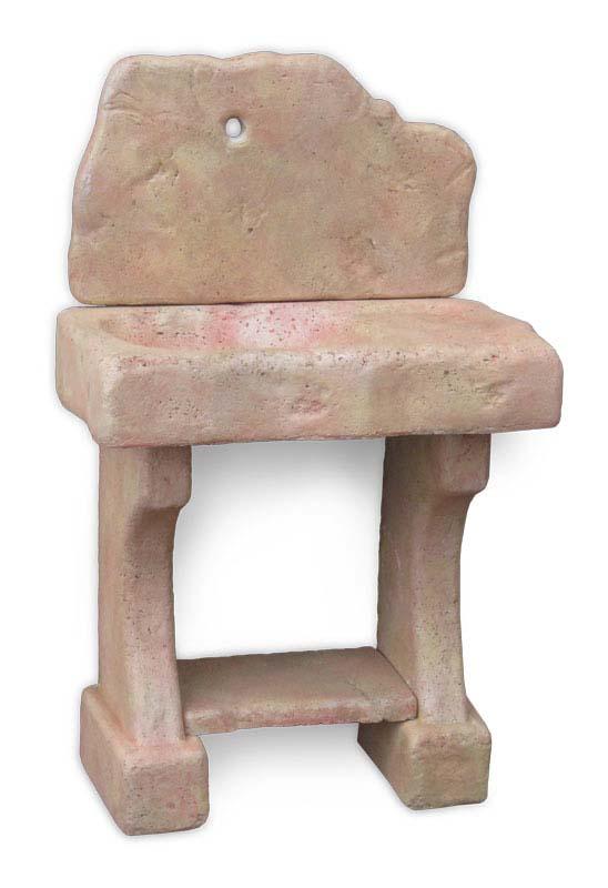 Lavello rustico fontane a muro e lavelli r c di for Aspetto rustico