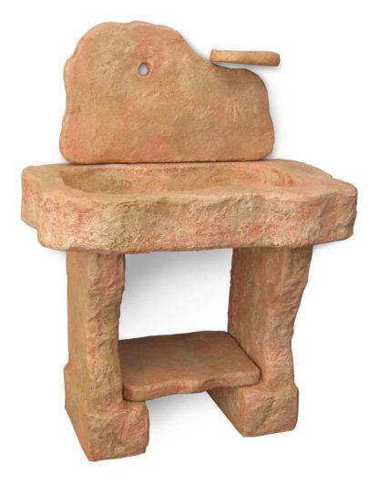 lavello Tovel con supporti col. pietre del borgo, cod. 03LTOP