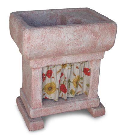 lavello Trasimeno col. rosa antico, cod. 03LTRRA