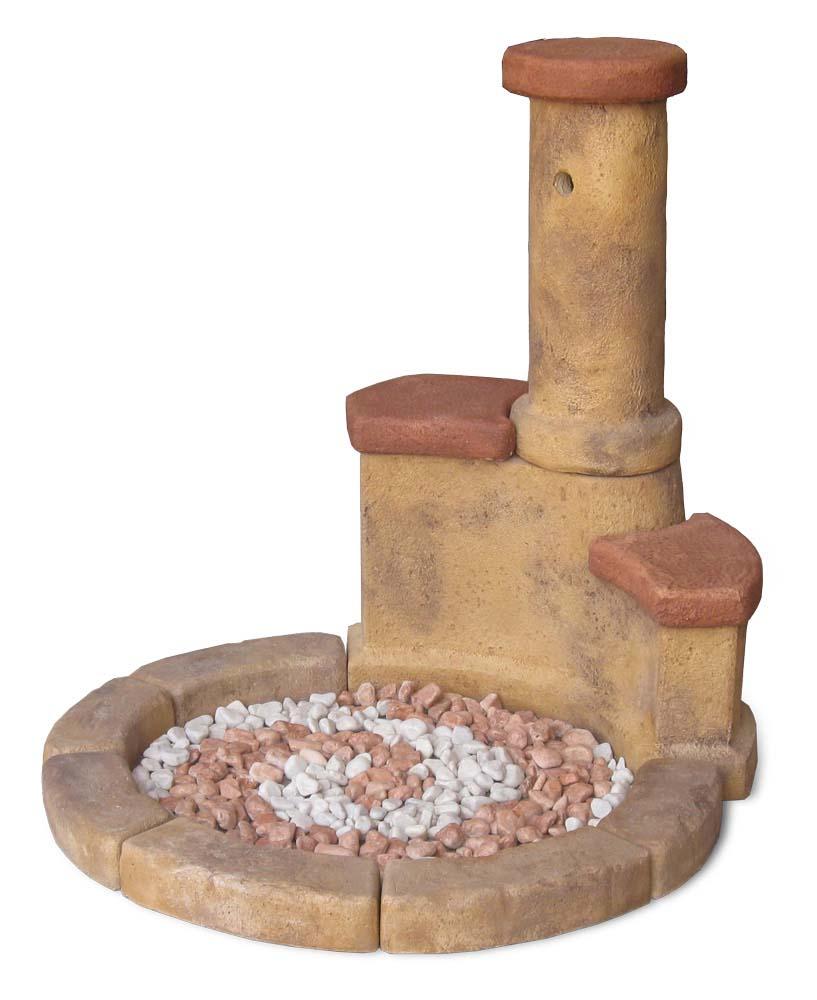 Fontana azalea easy fontane da giardino r c di for Ciottoli da giardino leroy merlin