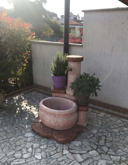 fontana azalea col. rosa antico, cod. 03FAZRA, provincia di Udine