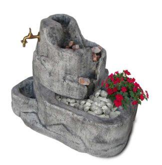 fontana Colorado con gioco d'acqua col. antichizzato, cod. 13FCOAT
