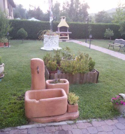fontana Dolomiti 60 col. mattone, cod. 03FD60M, località: Monte San Pietro (Bologna)