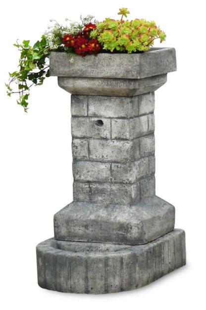fontana fiorita col. antichizzato, cod. 03FFAT