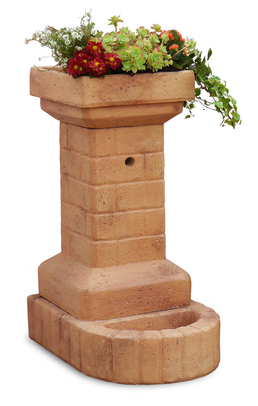 Fontana fiorita fontane da giardino r c di rinaldi - Foto fontane da giardino ...