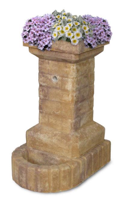 fontana fiorita col. old stone, cod. 03FFOS
