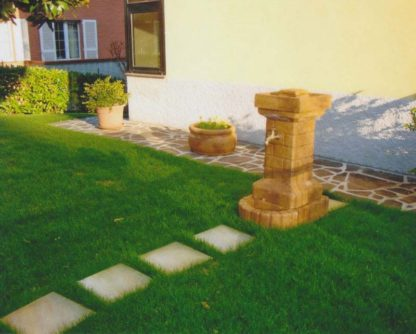 fontana fiorita col. old stone, cod. 03FFOS, località: Filottrano (Ancona)