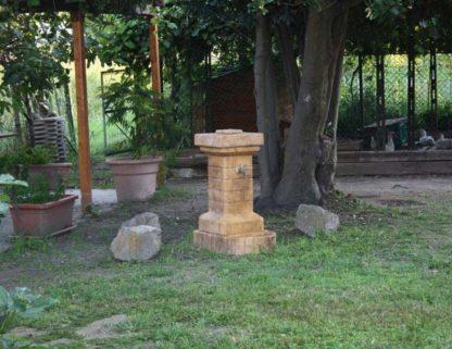 fontana fiorita col. old stone, cod. 03FFOS, località: Valli di Chioggia (Venezia)