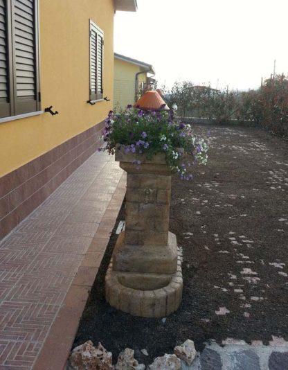 fontana fiorita col. old stone, cod. 03FFOS, località: Vinchiaturo (Campobasso)