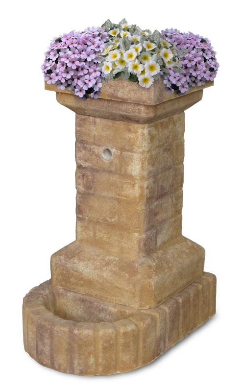 Fontana fiorita fontane da giardino r c di rinaldi for Prodotti da giardino