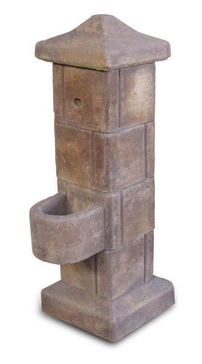 fontana pilastrello col. old stone, cod. 03FPOS