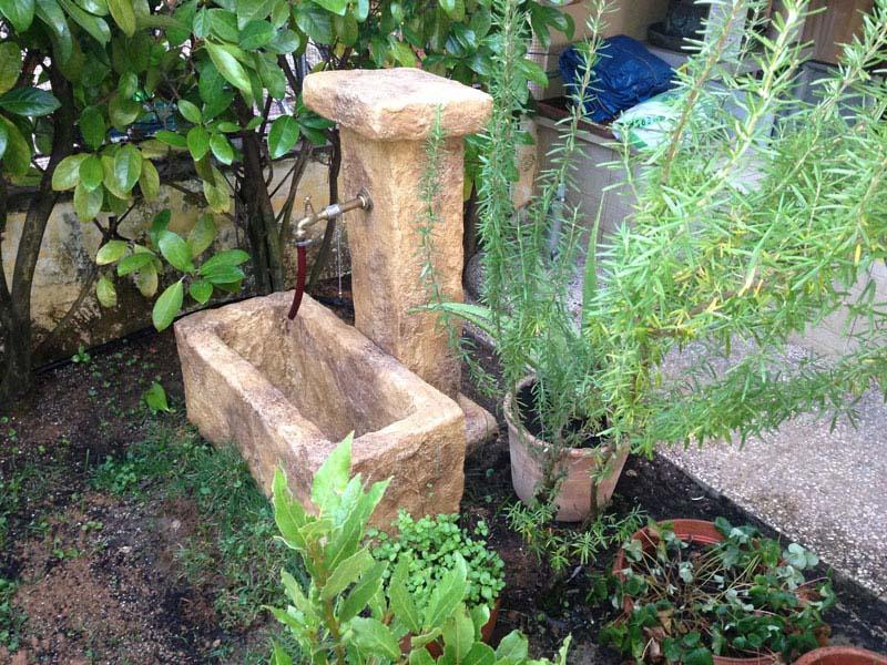 Fontana pusteria fontane da giardino r c di rinaldi geom franco - Terriccio da giardino prezzo ...