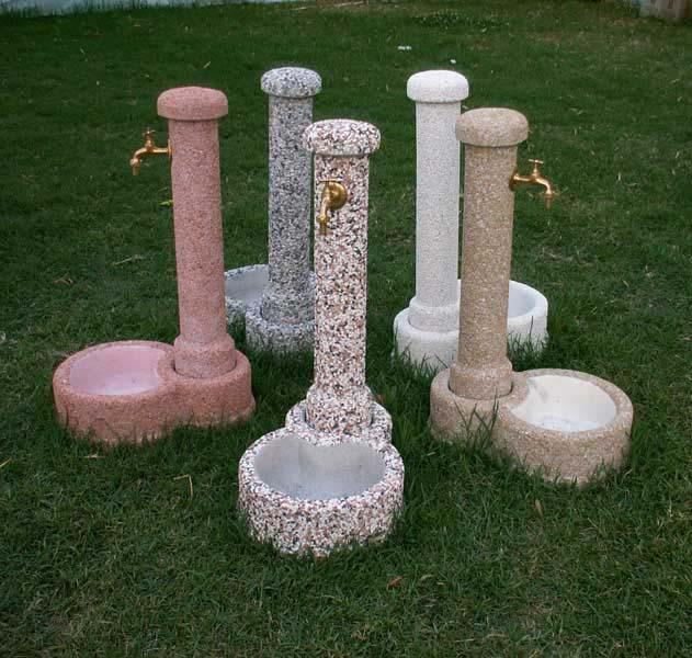 Fontana tondella  Fontane da giardino  R.C. di Rinaldi geom. Franco