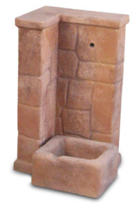 fontana fonte antica easy col. mattone, cod. 03FOAEM