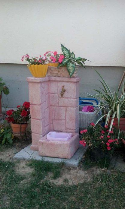 fontana fonte antica easy col. rosa antico, cod. 03FOAERA, località: San Giustino (Perugia)