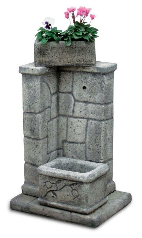 fontane angolari da giardino : Fonte antica Fontane da giardino R.C. di Rinaldi geom. Franco