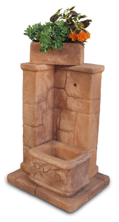 fontana fonte antica col. mattone, cod. 03FOAM